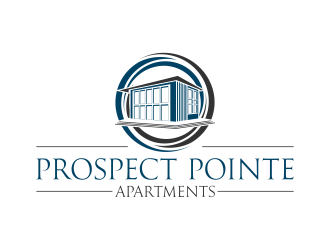 Prospect Pointe Apartments logo design