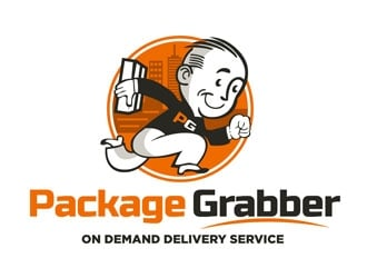 Package Grabber logo design