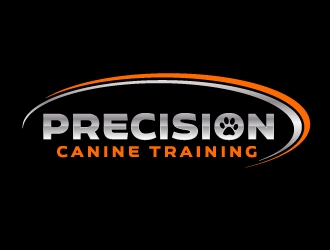 Precision Canine Training logo design