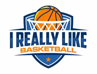 I Really Like Basketball logo design