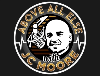 Above All Else with JC Moore logo design