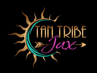 Tan Tribe Jax logo design