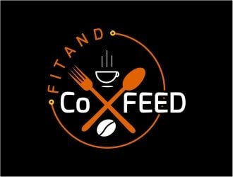 Fitand Co Feed logo design