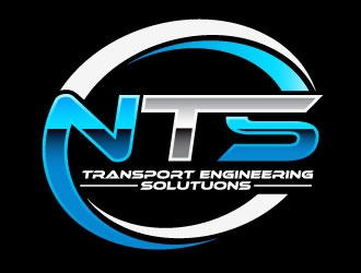 NTS TRANSPORT ENGINEERING SOLUTUONS logo design