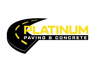 Platinum Paving & Concrete  logo design
