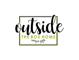 Outside the Box Home logo design