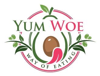 Yum Woe logo design