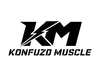 KONFUZD MUSCLE logo design