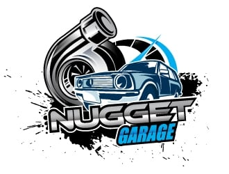 Nugget Garage logo design