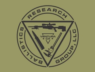 Ballistics Research Group, LLC logo design