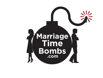Marriage Time Bombs logo design winner