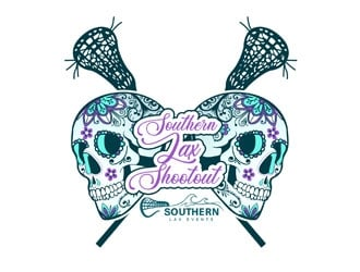 Southern Lax Shootout logo design