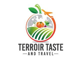 Terroir Taste and Travel logo design