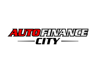 AUTO FINANCE CITY logo design