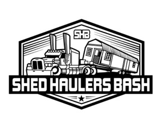 Shed Haulers Bash logo design