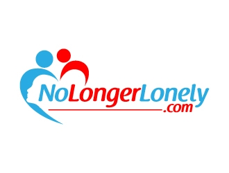 Nolongerlonely.com logo design