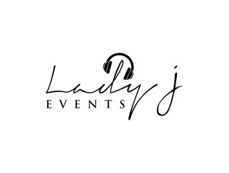 Lady J Events logo design winner