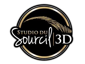 Studio du Soucil 3D logo design