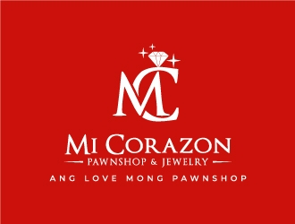 Mi Corazon Pawnshop & Jewelry logo design