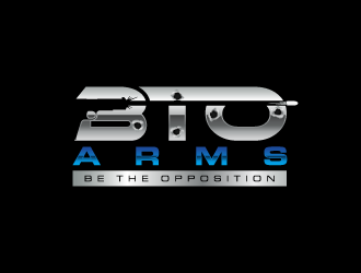 BTO Arms logo design