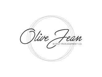 Olive Jean Event Management Co. logo design