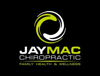 JayMac Chiropractic logo design