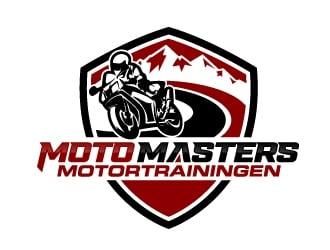 Moto Masters Motortrainingen logo design