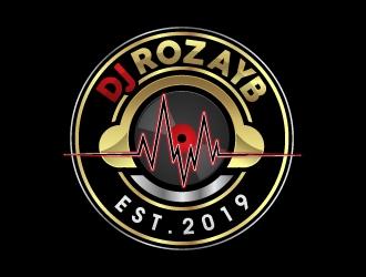 Dj Rozay B logo design