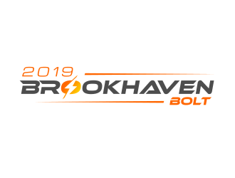 2019 Brookhaven Bolt logo design