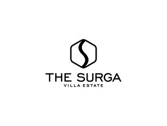 The Surga villa estate logo design
