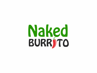 Naked Burrito logo design