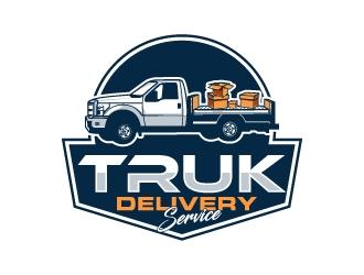 TRUK Delivery Service logo design