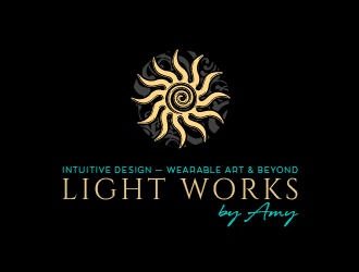 Light Works by Amy logo design