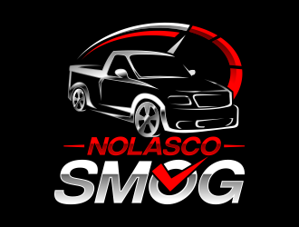 Nolasco Smog logo design