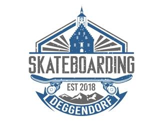 Skateboarding Deggendorf logo design