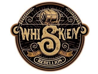 Whisk(e)y Rebellion logo design