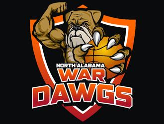 North Alabama War Dawgs logo design