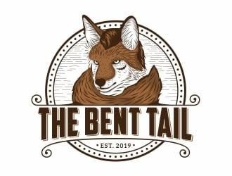 The Bent Tail logo design