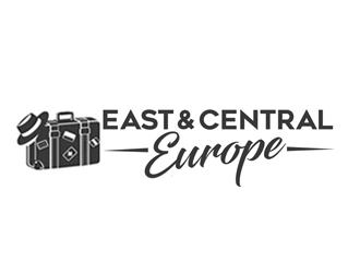Visit CEE  logo design