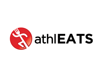 AthlEATS logo design