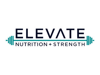 ELEVATE Nutrition Strength logo design