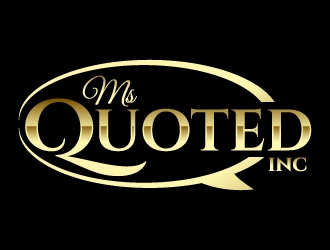 Ms Quoted, Inc logo design