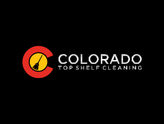 Colorado Top Shelf Cleaning logo design