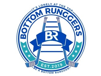 Bottom Runggers logo design