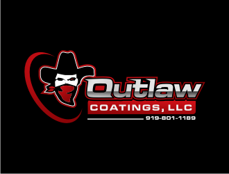 Outlaw Coatings, LLC logo design