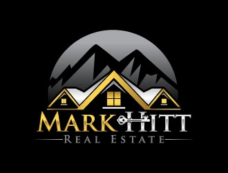 Mark Hitt Real Estate logo design