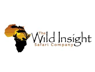 The Wild Insight Safari Company - immerse in nature logo design