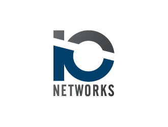 IO Network Systems logo design