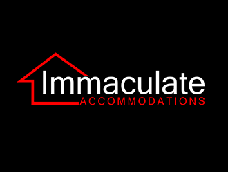 Immaculate Accommodations  logo design