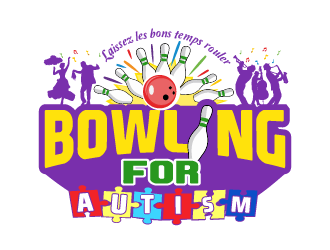 Bowling for Autism logo design winner